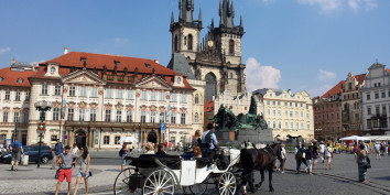 old square praque city center czech travel sightseeing